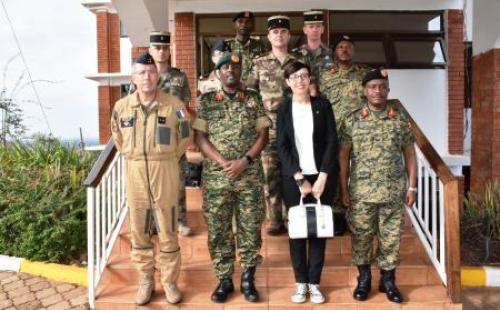 French Brig General Eric Gernez Louds Cooperation with UPDF